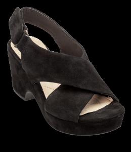 Clarks dame sandal sort 26131774