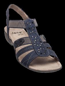 Jana Softline damesandal navy 8-8-28163-22