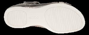 ECCO damesandal grå 240873 FLASH