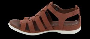 ECCO damesandal brun 243953 FLASH