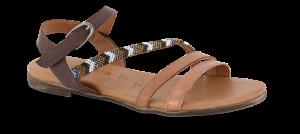 Tamaris damesandal brun 1-1-28161-24