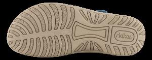 Rieker Damesandal Blå V8873-14
