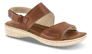 Nordic Softness damesandal brun 4221160230