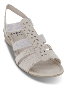 Jana Softline damesandal sort 8-8-28163-24