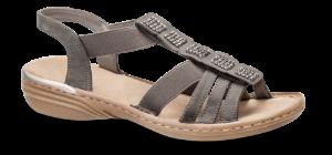 Rieker damesandal grå 60361-45