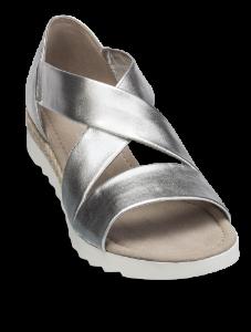 Gabor damesandal sølv 22711