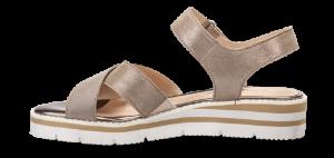 Caprice dame sandal taupe 9-9-28200-22