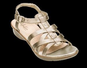 Clarks dame sandal sølv 26140740