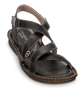 Relaxshoe damesandal sort 319-027