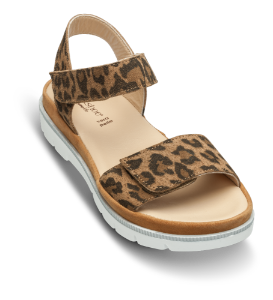 Relaxshoe damesandal leopard 499-011