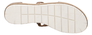 Tamaris damesandal brun 1-1-28228-22