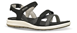 ECCO damesandal sort 821833 CRUISE II