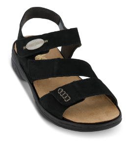 Rieker damesandal sort 64573-00