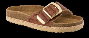 B&CO damesandal slip-in brun 4411100230