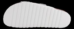 B&CO damesandal hvid skinn