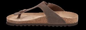 B&CO damesandal brun