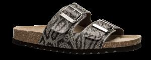 B&CO damesandal grå snake 4419100822