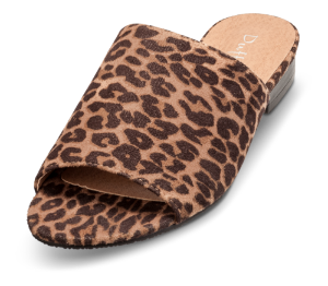 Duffy damesandal leopard 97-18221
