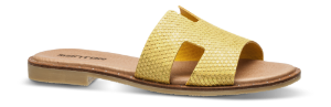 Mentor damesandal gul H-sandal