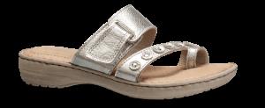 Nordic Softness damesandal sølv