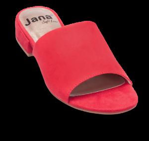 Jana Softline damesandal rød 8-8-27260-22