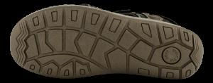 Odiin herre sandal brun komb. 4611100332