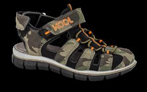 KOOL sandal grønn kombi 4811102821