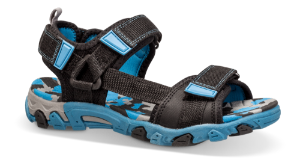 SuperFit barnesandal sort/blå 400101