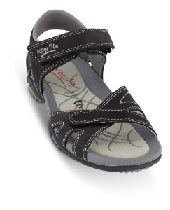 Superfit barnesandal sort 6-00151 Nancy