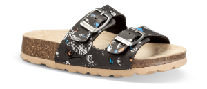 SuperFit børnesandal mørkegrå multi 800111