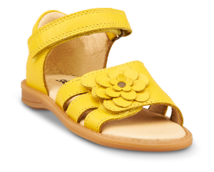Skofus barnesandal gul