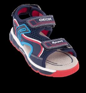 Geox  børnesandal blå multi J020QB014BUC0735