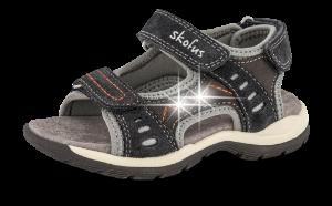 Skofus sandal grå kombi 4831100621