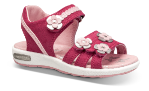 SuperFit barnesandal rød/rosa 409133