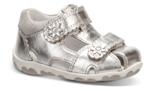 Superfit børnesandal metallic 409038