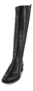B&CO lang damestøvle sort 5210500110