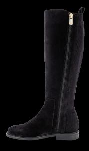 Tommy Hilfiger lang damestøvle sort FW0FW05194