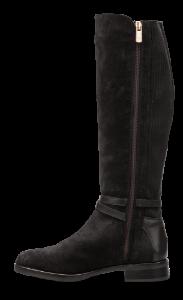 Tommy Hilfiger lang damestøvlett sort FW0FW04282