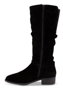 Tamaris lang damestøvlett sort 1-1-25561-23