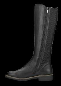 Caprice damestøvlett sort 9-9-25601-21
