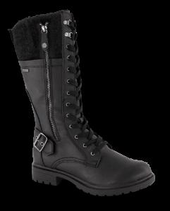 Tamaris damestøvlett sort t-1-26608-23