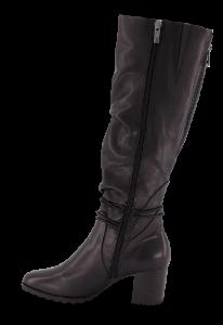 Caprice lang damestøvlett sort 9-9-25605-23