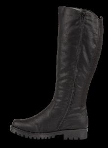 Rieker lang damestøvlett sort 78554-00