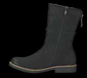 Rieker damestøvlett sort 97860-00