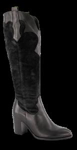 B&CO Lange damestøvletter Sort 5230500210