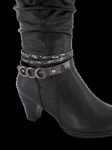 B&CO damestøvlett sort 5230500910