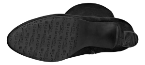 Tamaris lang støvlett sort 1-1-25522-21 001