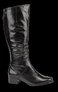 Caprice lang damestøvlett sort 9-9-25500-23
