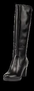 Tamaris lang damestøvlett sort 1-1-25552-23