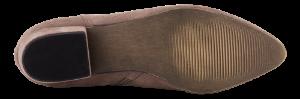 B&CO kort damestøvlett beige